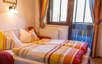 Appartement 4 - Wohnbereich - Schlafcouch